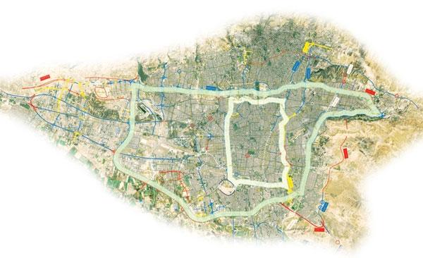 نقشه شهرتهران