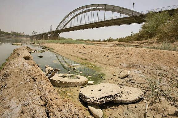 بحران زیست محیطی - اهواز
