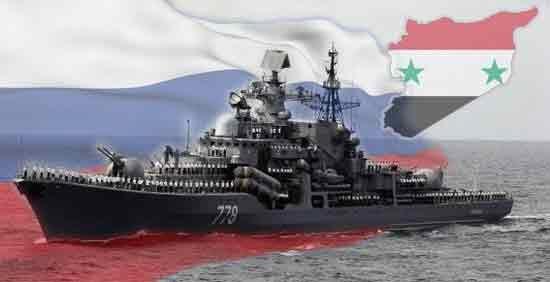 ناو روسیه در سوریه
