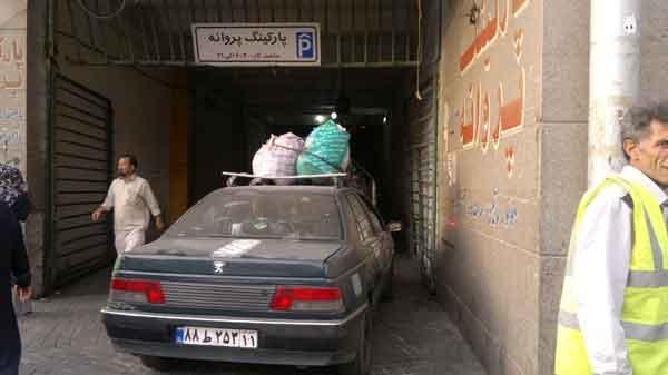 چند پلان از جمعه بازار پاساژ و پارکینگ پروانه