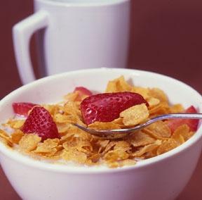 غلات برای صبحانه