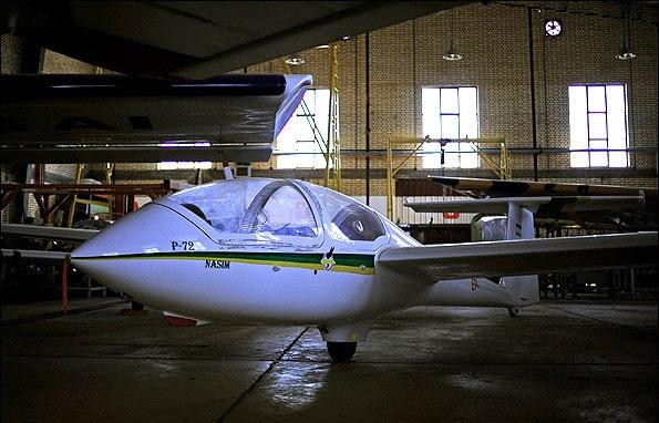 تصاویر هواپیمای بدون موتور ساخت ایران