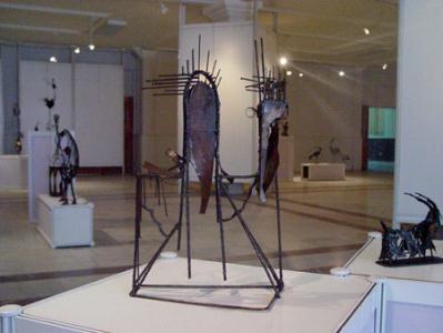 نمایشگاه مجسمه