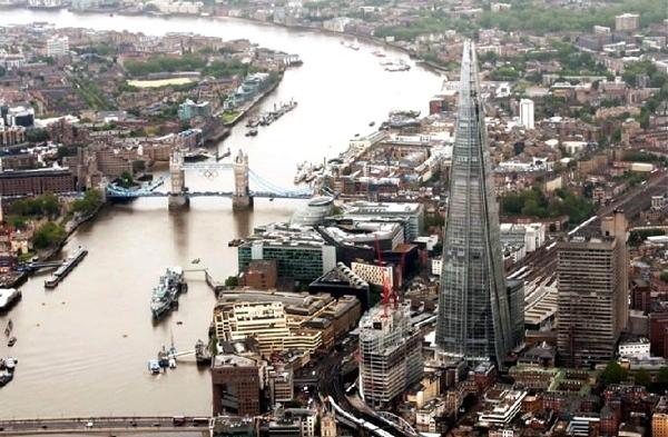 آشنایی با برج شارد لندن - بریتانیا