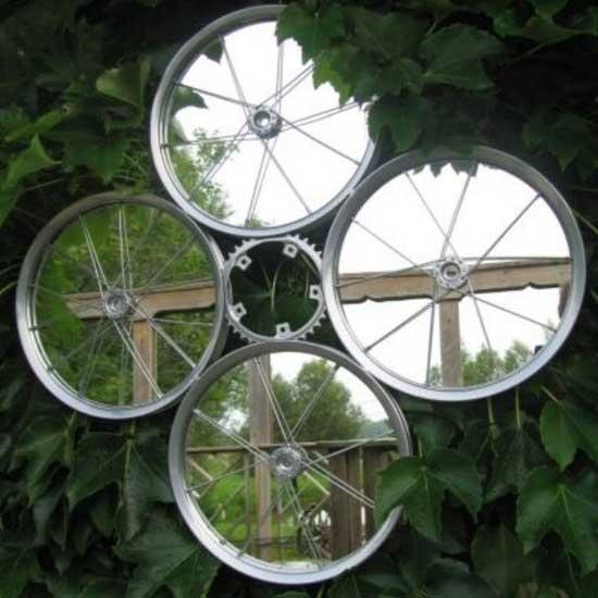 آشنایی با 6 مورد استفاده از رینگ کهنه دوچرخه