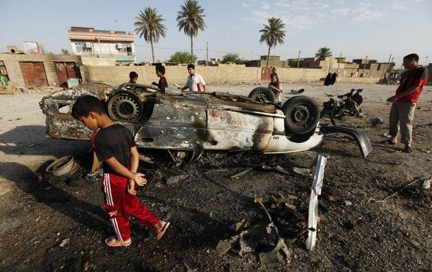 تصاویری از مرگبارترین روز عراق در 2 سال گذشته