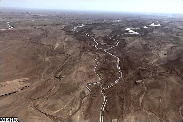 آشنایی با منطقه کویری گندم بریان - کرمان