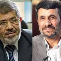 احمدی نژاد - مرسی