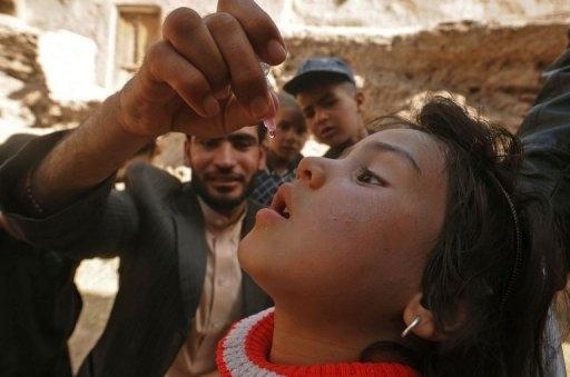ممنوع کردن واکسیناسیون فلج اطفال بوسیله طالبان پاکستان