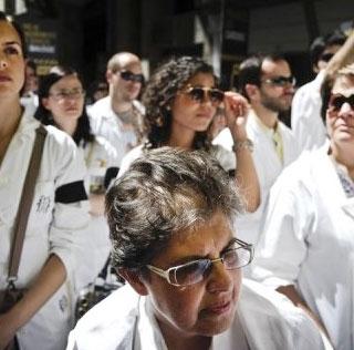 پزشکان و پرستاران پرتغال دست به اعتصاب زدند