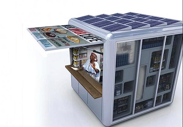 تصاویر نخستین فروشگاه خورشیدی جهان
