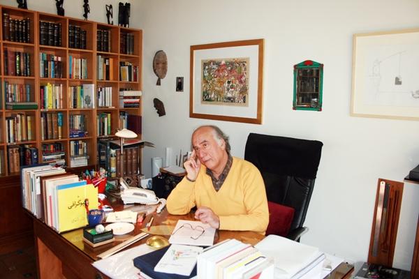 محمد زهرایی مدیر نشر کارنامه