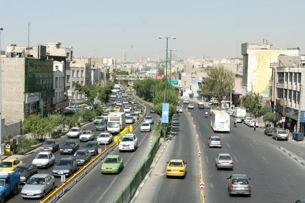 تهران - رسالت - خط اتوبوس های تندرو