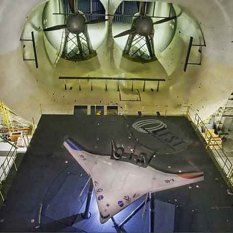 آزمایش موفقیت آمیز هواپیمای مثلثی ناسا