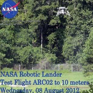 فرودگر روباتیک ناسا آزمایش شد