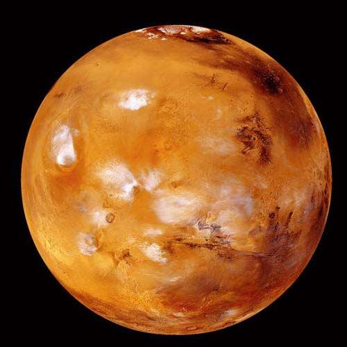 چرا مریخ قرمز رنگ است؟