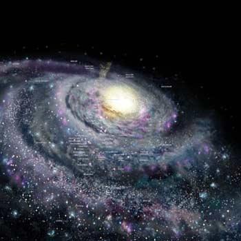ماده تاریک در راه شیری