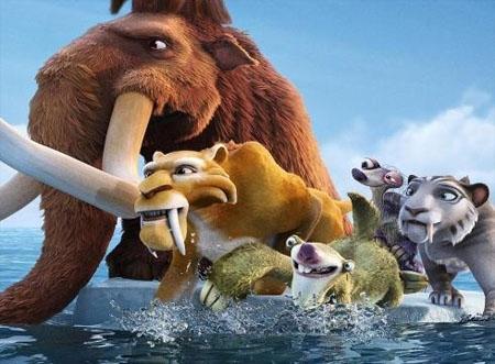 عصر یخی4 دومین انیمیشن پرفروش جهان شد