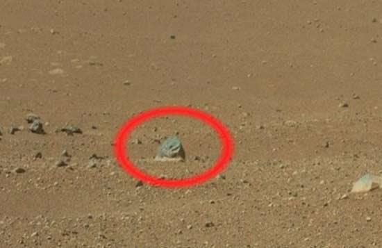 تصاویری عجیب از مریخ