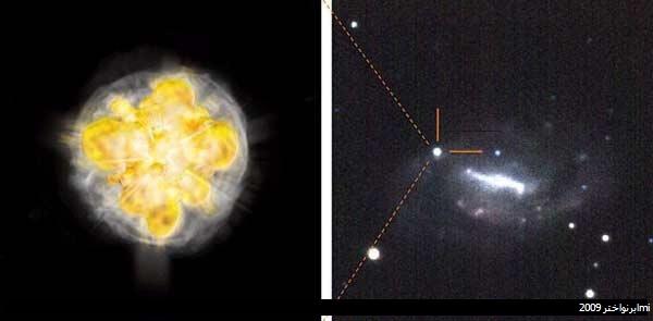 تصاویری از لحظات پایانی حیات ستارهها