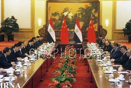 روسای جمهوری چین و مصر در مورد مساله سوریه گفت وگو کردند