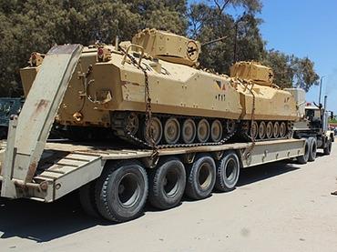 نتانیاهو خواستار خروج تانکهای مصری از صحرای سینا شد