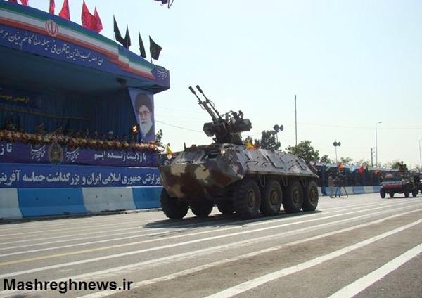 آشنایی با چند نوع نفربر - ایران