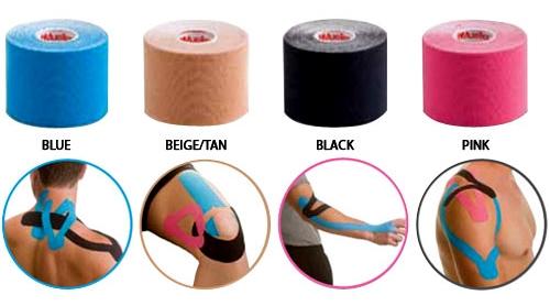 نوار درمانی الاستیکی (Elastic Therapeutic Tape)