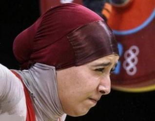 زنان ورزشکار محجبه