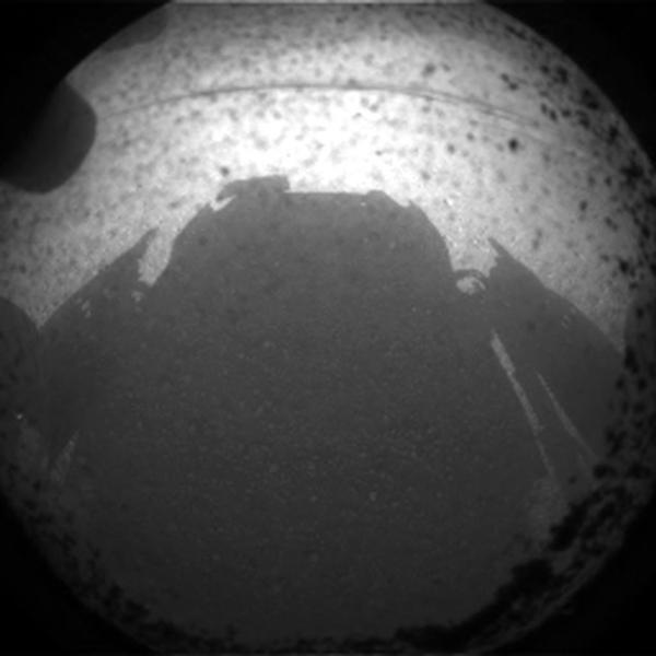 اولین نگاه به مریخ