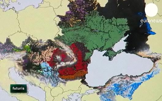 رنگهای گوناگون دریای سیاه