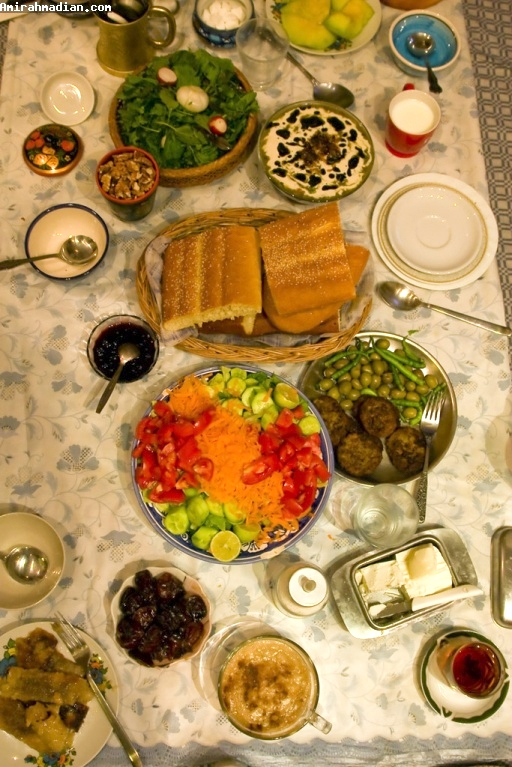 آشنایی با رژیم غذایی در ماه مبارک رمضان