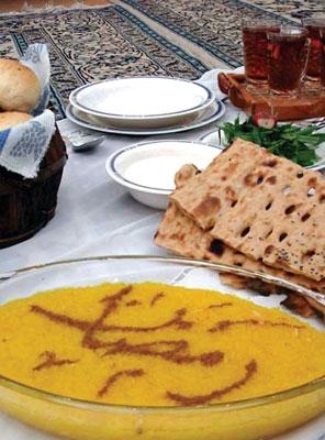 آداب و رسوم مردم خاش در ماه مبارک رمضان