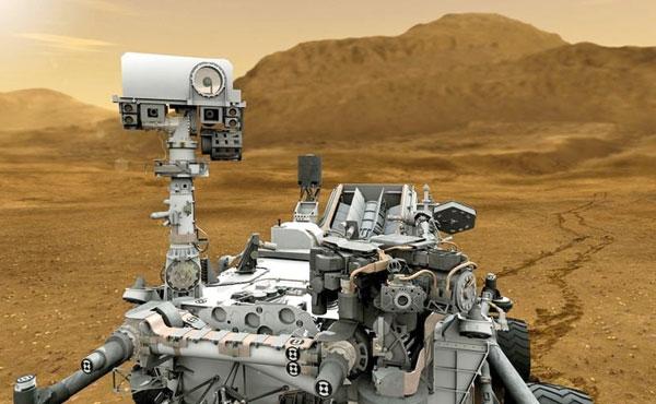پخش زنده فرود مریخ نورد