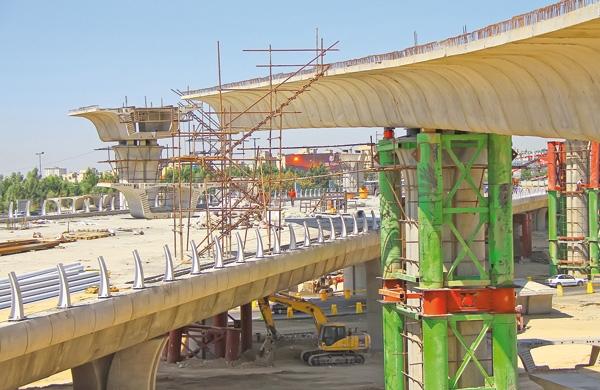 بهرهبرداری از یکی از پلهای اصلی تقاطع غیرهمسطح شیخفضلالله - جناح