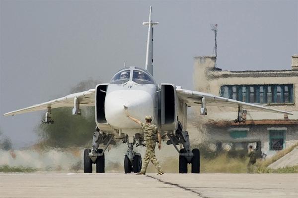 آشنایی با هواپیمای بمب افکن سوخو ۲۴  - روسیه