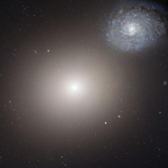 یک جفت کهکشانی عجیب