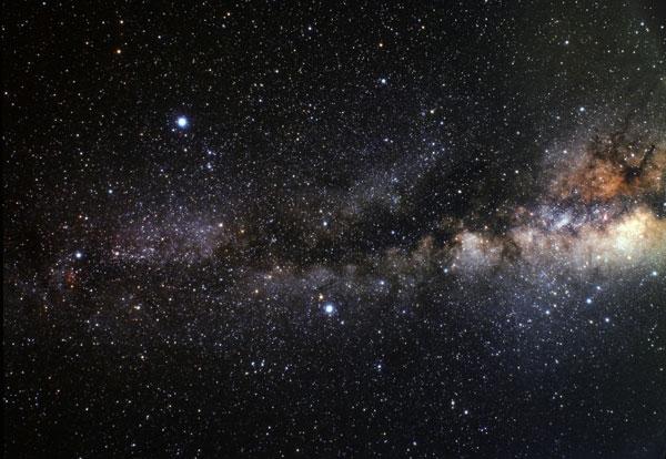 صفحه میانی کهکشان راه شیری