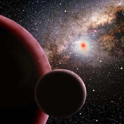 سیارههایی که به دور ستارههایی مثل خورشید میچرخند