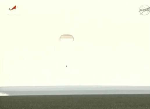 خدمه ایستگاه فضایی به زمین بازگشتند