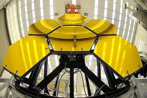 تلسکوپ جیمز وب در آستانه تکمیل شدن