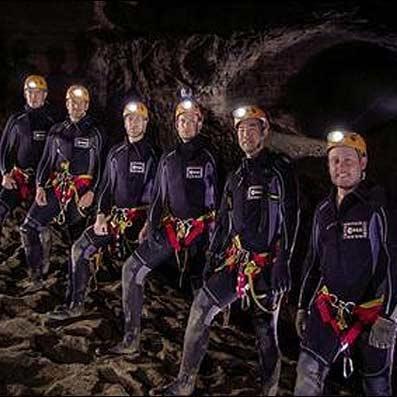 آمادگی فضانوردان، این بار در غارهای زیر زمینی