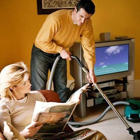 کار مردان در خانه و افزایش 50 درصدی احتمال طلاق