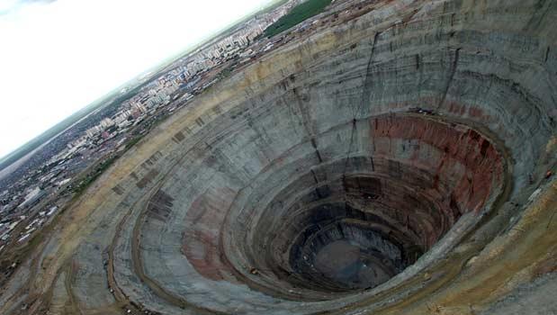 معدن الماس سیبری