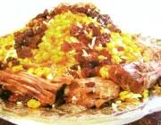 مانی پلو غذای دامغانی