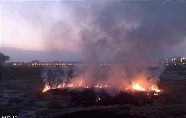 زاینده رود آتش سورزی