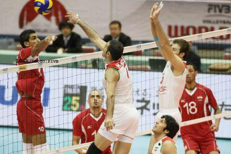 والیبال ایران مصر
