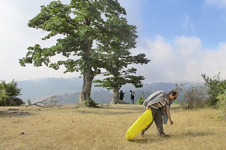 جنگل ابر - پاکسازی زباله