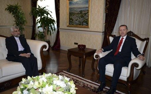 دیدار سعید جلیلی با نخست وزیر ترکیه