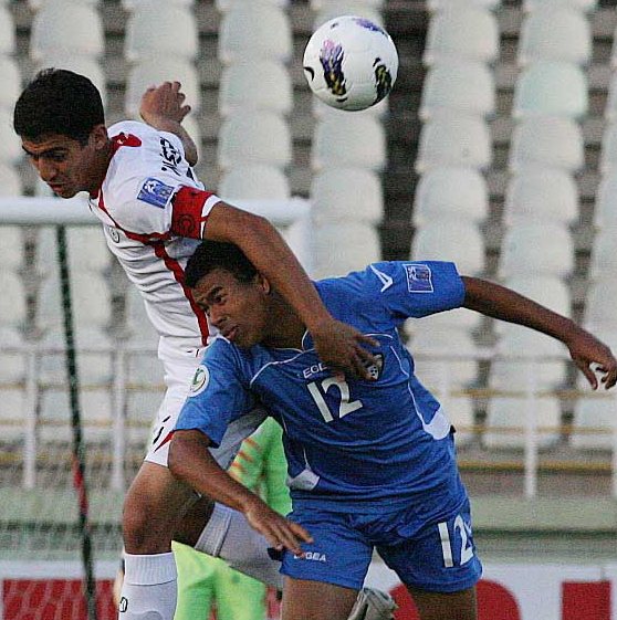 تصاویری از دیدار فوتبال جوانان ایران و کویت